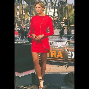Charissa Thompsonhot red dress