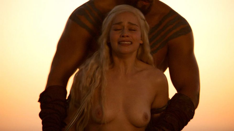 Emilia Clarke forced porn