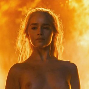 Emilia Clarke naked breasts