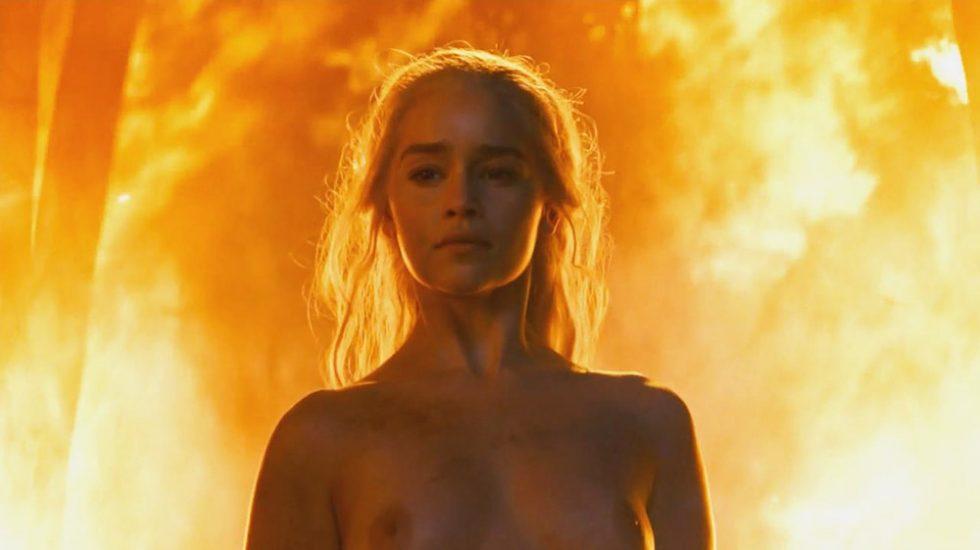Emilia Clarke naked breasts