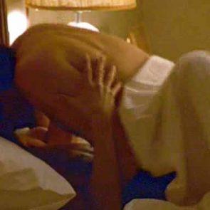 Jennifer Aniston naked tits in sex scene