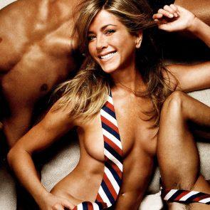 Jennifer Aniston topless for magazine