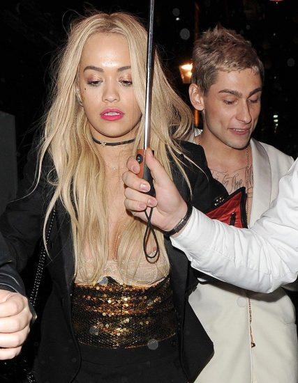 Rita Ora boobs