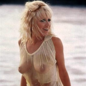 Suzanne Somers tits in see through