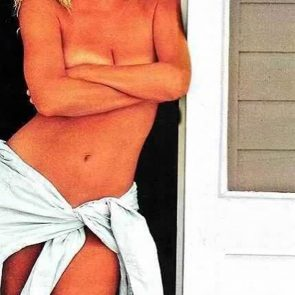 Suzanne Somers topless covered