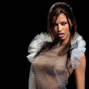 Adriana Lima tits