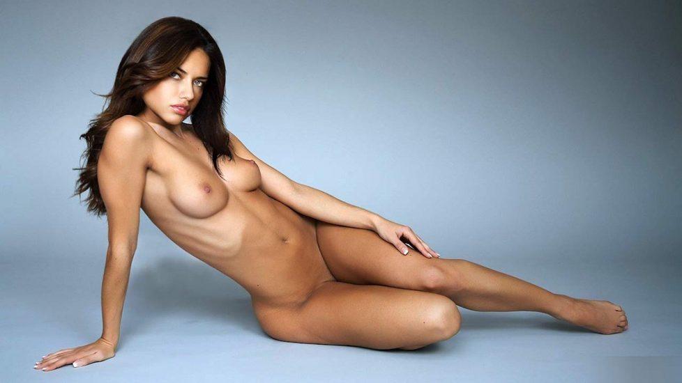 Adriana Lima nude boobs and pussy