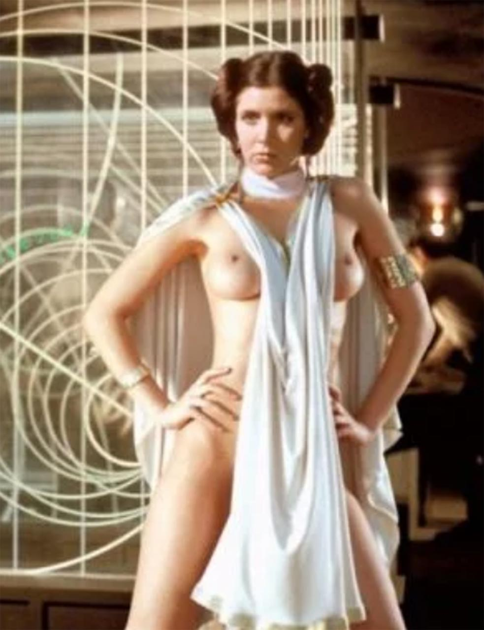 Carrie Fisher Naked