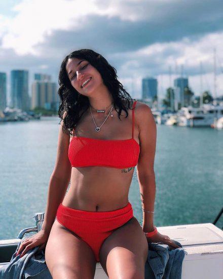 Lexy Panterra red bikini