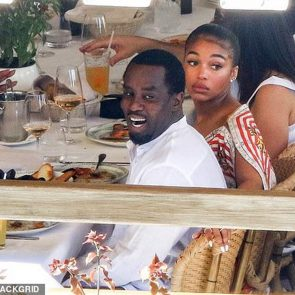 Lori Harvey dinner with P Diddy