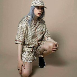 Billie Eilish naked legs