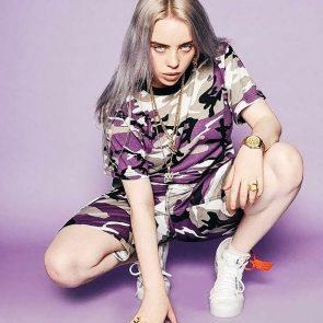 Billie Eilish nude legs