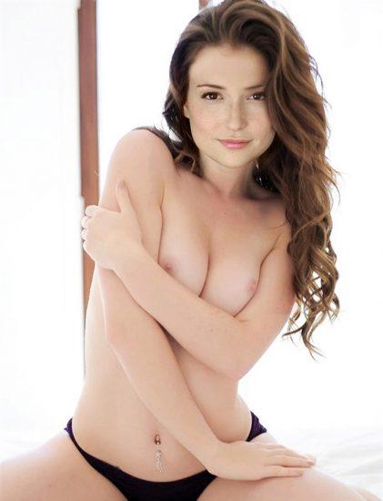 Milana Vayntrub hot after sex tape