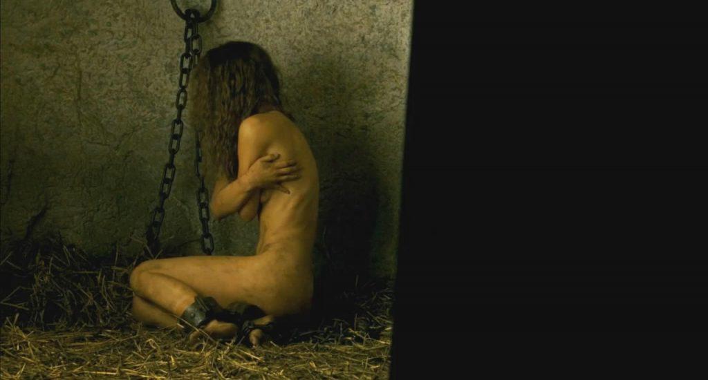 Natalie Portman covered topless