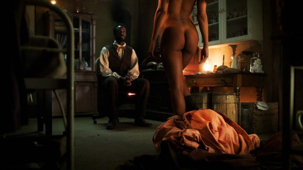 Tessa Thompson naked ass