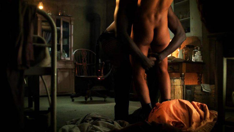 Tessa Thompson nude ass in sex scene