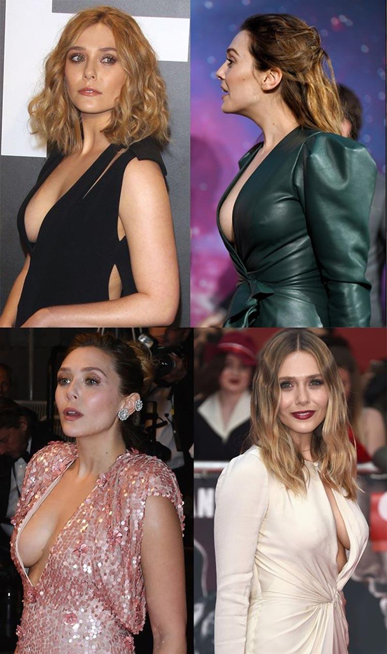 Elizabeth Olsen Nude Ultimate Collection 30