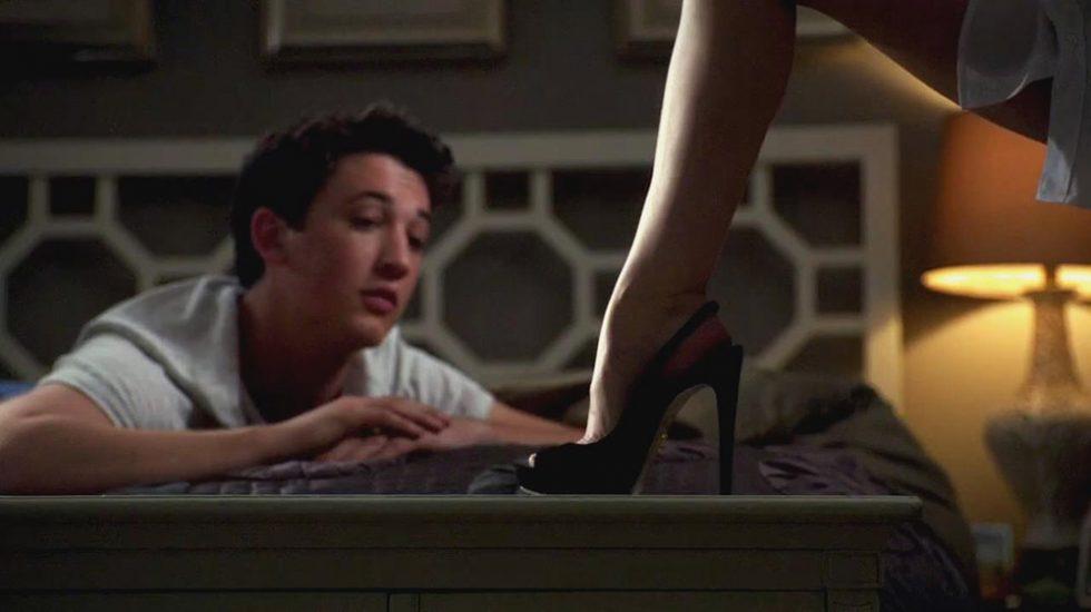 Anna Kendrick feet in heels