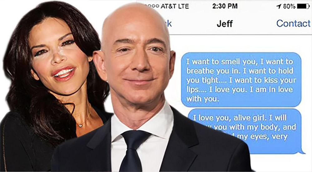 Jeff Bezos Nude Selfies Are Probably Not Newsworthy