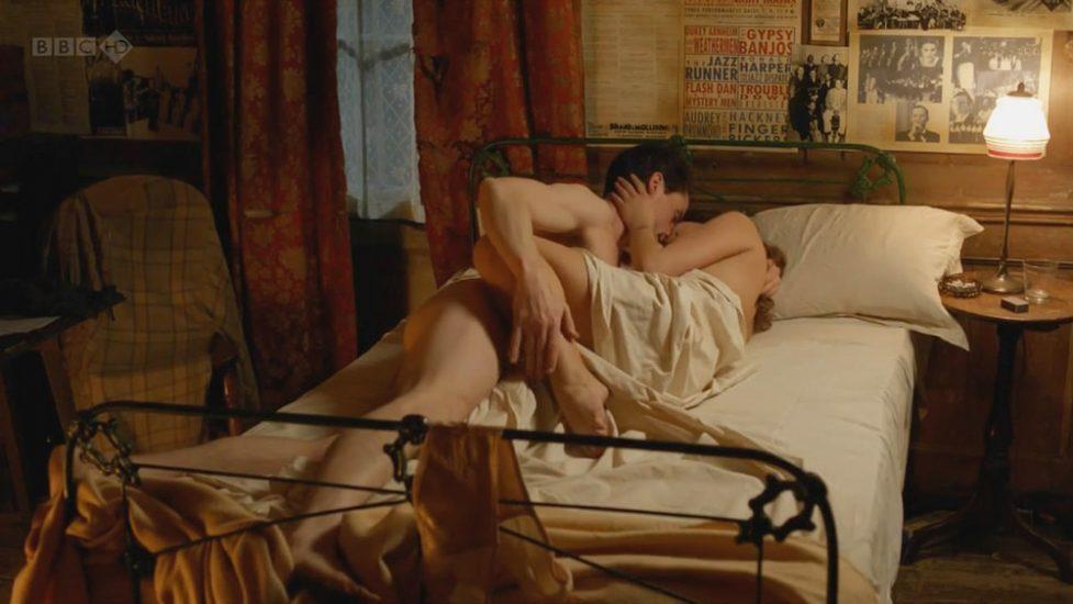 Jenna Louise Coleman nude sex scene