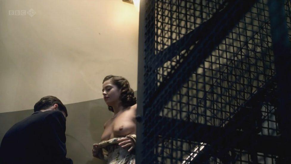 Jenna Louise Coleman naked boobs scene