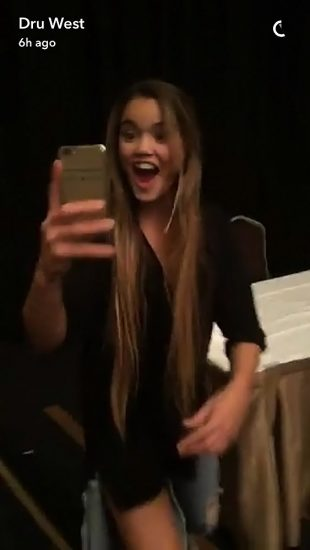 Paris Berelc private selfie
