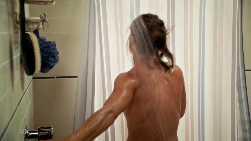 Rashida Jones nude from behind