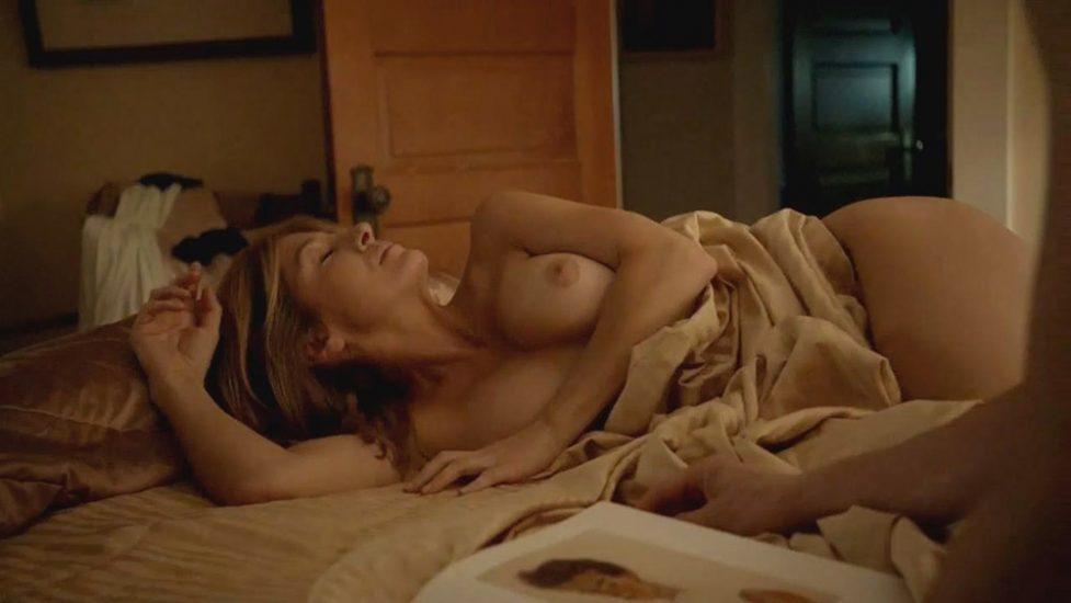 Sasha Alexander topless scene