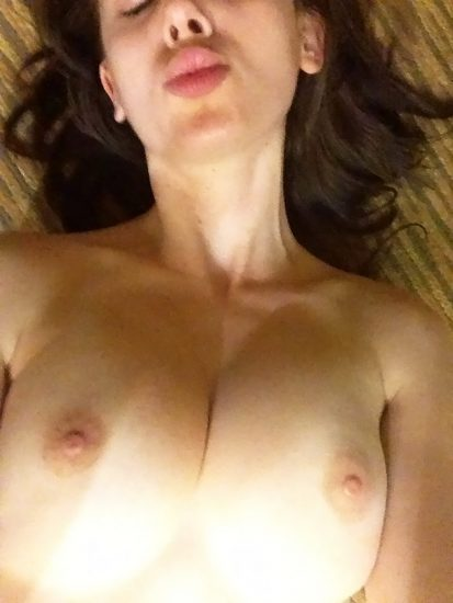Alison Brie leaked topless
