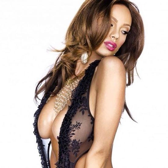 Erica Mena nude tits