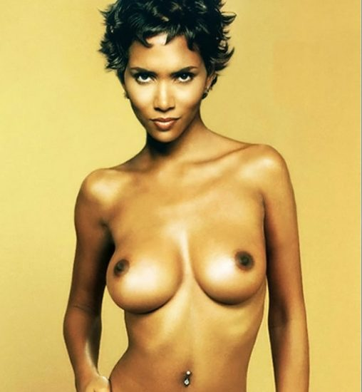 Halle Berry nude boobs
