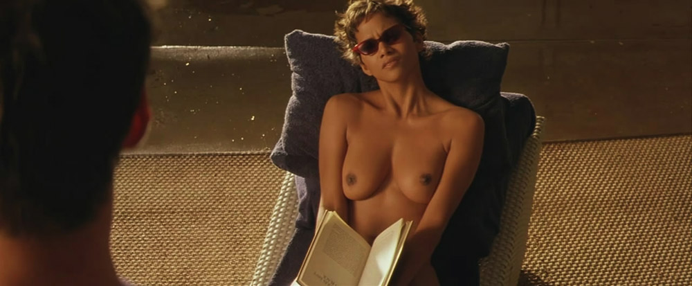 Halle Berry topless in scene