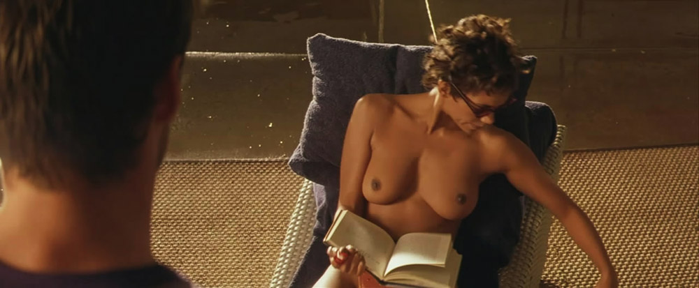Halle Berry topless clip
