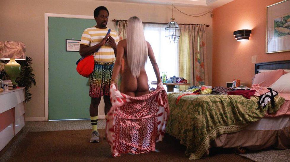 Karrueche Tran nude ass scene