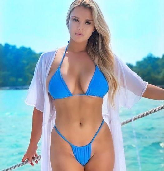 Kinsey Wolanski almost nude
