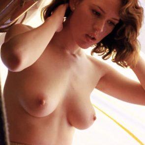 Big natural tits freaky redhead milf