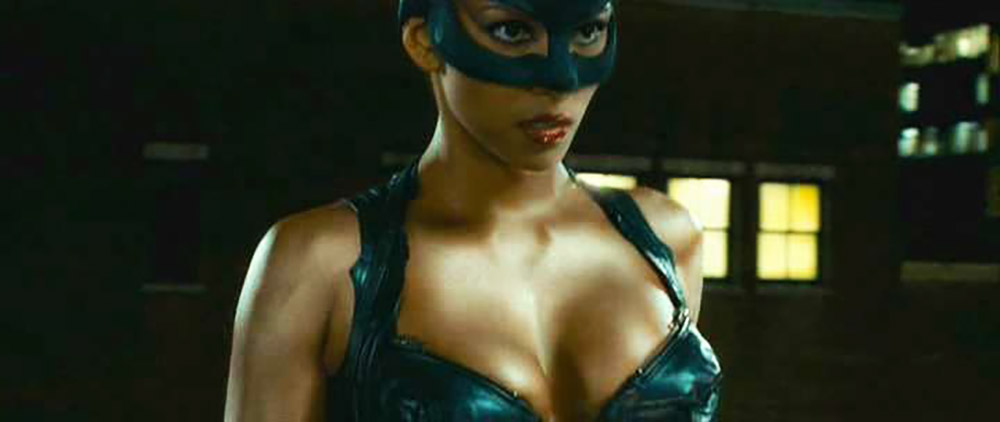 Halle Berry hot cleavage