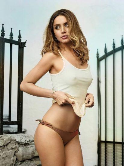 Ana de Armas Nude & LEAKED Porn And Topless Sex Scenes 12