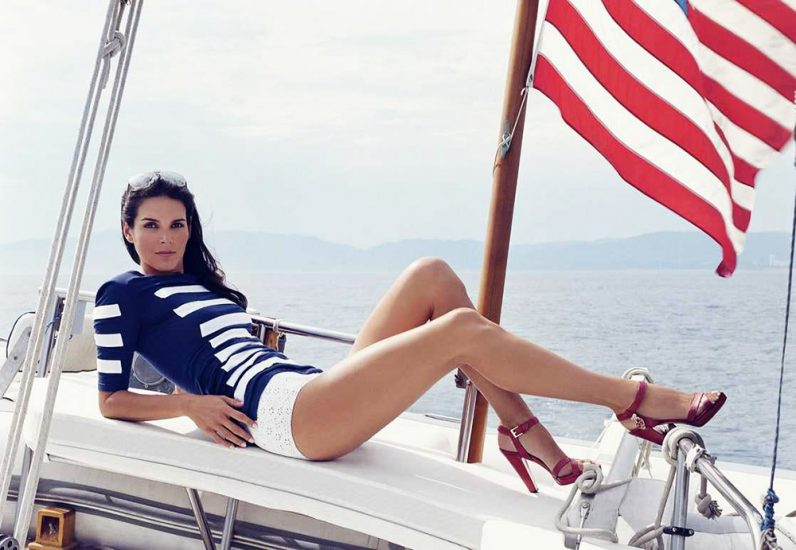 Angie Harmon Nude & Sexy Photos And Topless Sex Scenes 43