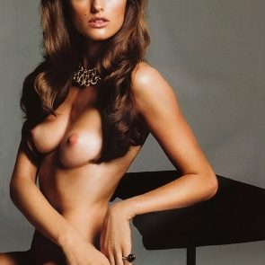 Izabel Goulart nude breasts