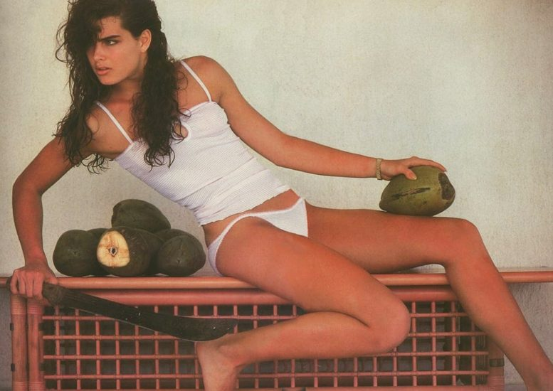 Brooke Shields Nude & Topless Pics And Sex Scenes Compilation 91