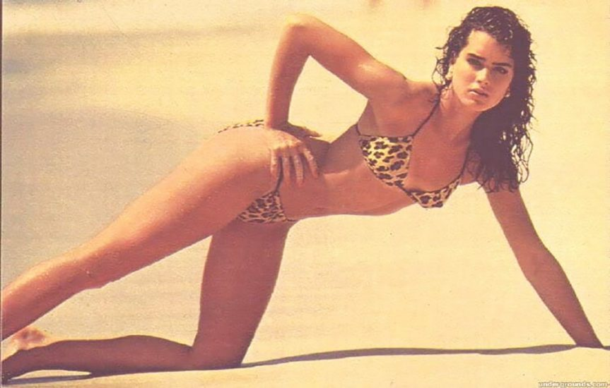 Brooke Shields Nude & Topless Pics And Sex Scenes Compilation 81