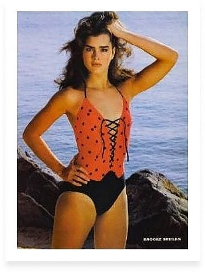 Brooke Shields Nude & Topless Pics And Sex Scenes Compilation 48