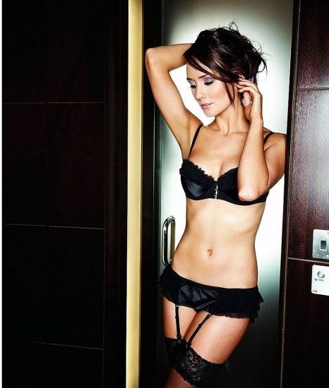 Claire Cooper almost nude