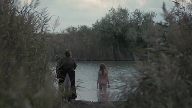 Millie Brady nudein The Last Kingdom-9