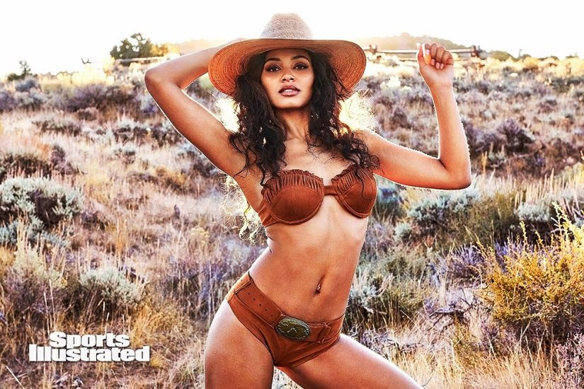 Danielle Herrington NUDE & Topless Pics for Sports Illustrated 100