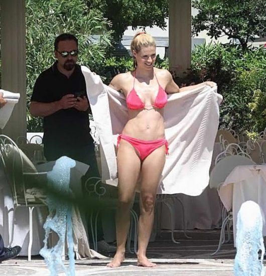 Michelle Hunziker NUDE & Topless Pics And Sex Scene 56