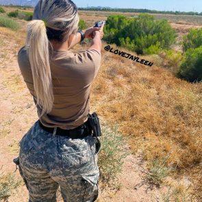 Jayleen Rodriguez nude t shirt shooting