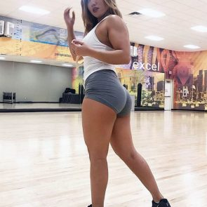 Jayleen Rodriguez nude hot ass in the gym