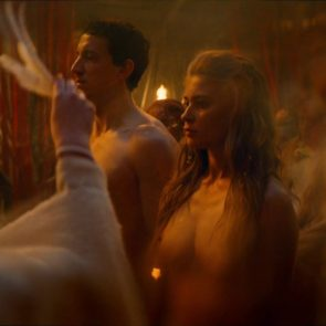 Jeanne Goursaud nude titties